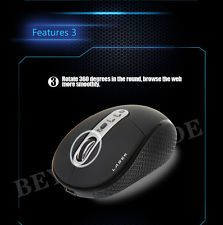 2.4G Wireless Optical Mouse Mice 3200 DP for PC Laptop + USB Cable USB Receiver