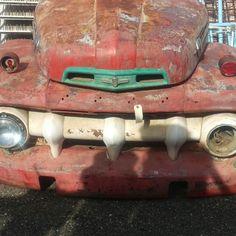 Vintage Pickup Truck front end