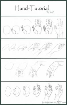 31 Trendy How To Draw Hands Tutorials Step By Step Uncategorized Drawing tutorial Drawing Anime Hands, Anime Drawings Sketches, Pencil Art Drawings, Manga Drawing, Easy Drawings, How To Draw Sketches, Sketches Of Hands, How To Sketch People, Drawings Of Hands