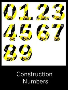 Construction Numbers - FREE PDF Download