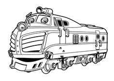 Chuggington coloring pages, Harison for kids printable free