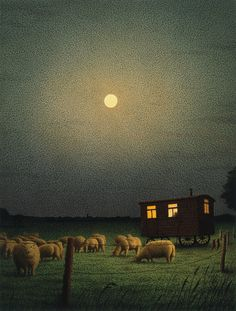 'Sheep, Sheep' by Quint Buchholz, circa 1987