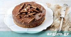 Cheesecake Nutella από την Αργυρώ Μπαρμπαρίγου   Συνταγή από το διάσημο cheesecake factory στην Αμερική. Έχεις σχέση αγάπης με την πραλίνα; Φτιάξ΄το τώρα!