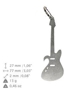NEW Small guitar bottle opener stainless steel by ArtDogshopcenter