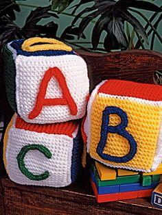 Knitting - Feel-Good Patterns - Alphabet Blocks