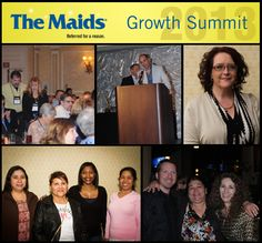 Las Vegas was the cleanest city this past weekend when The Maids held its annual Growth Summit for franchise owners.