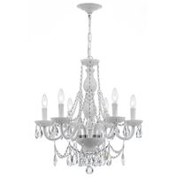 White Envogue Chandelier