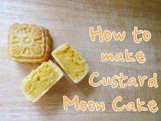 How to make Custard Moon Cake 奶皇月餅