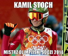 Kamil Stoch - mistrz olimpijski Soczi 2014