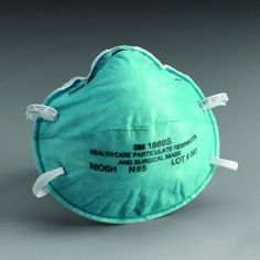 Niosh Respirator Mask by Healthcare particulate respirator and surgical mask helps provide respiratory protection against certain airborne biological particles. Survival Prepping, Emergency Preparedness, Survival Mode, Survival Stuff, Survival Tools, Bird Flu, Respirator Mask, Bug Out Bag, First Aid