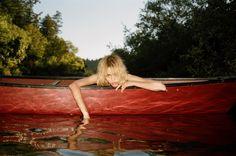 Sneak peek at Tamar Wider's new brand, Camp Collection. Look book starring Cora Keegan