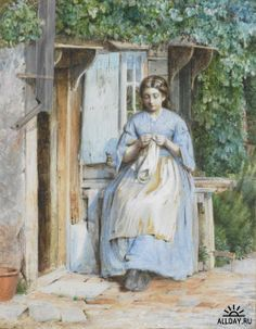 Buscar por imagen the knitter, by georges lemmen Jane Maria Bowkett