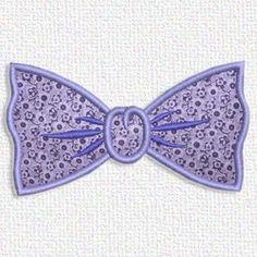 Adorable Applique bow