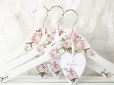 Diy Wedding Hangers, Bridesmaid Hangers, Wedding Dress Hanger, Bridal Hangers, Bridesmaid Gifts, Mauve Wedding, Blush Pink Weddings, White Wedding Dresses, Personalized Hangers