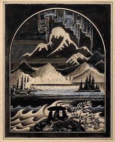 Image result for kay nielsen-en and ink