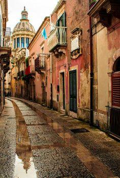 ancient Ragusa, Italy