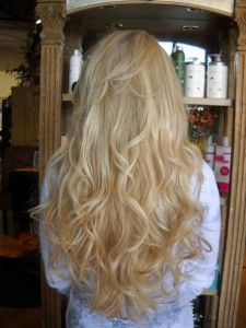 hair extension photos before & after