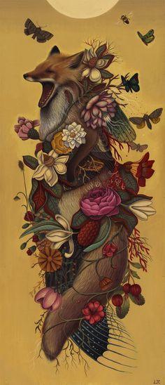 fox flora and fauna