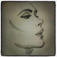 Victoria Beckham #profile #illustration #illustrationoninstragram #drawing #spicegirl #spicegirls #Victoria #VictoriaBeckham #VictoriaAdams #Posh #PoshSpice #sketch #sketching #passion #saturday #saturdaynight #art #artwork #fanart #pop #music #fashion #designer #fashiondesigner https://www.facebook.com/diegocelmailustrador/