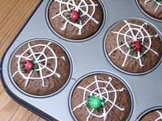 Griezelige kindercupcakes