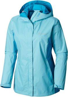 Columbia Women's Splash A Little II Jacket, Size: Medium, Blue Columbia Jacket Womens, Clothing Store Design, Rain Jacket Women, Outdoor Apparel, Mountain Hardwear, Jackets For Women, Clothes For Women, Outdoor Outfit, Vest Jacket