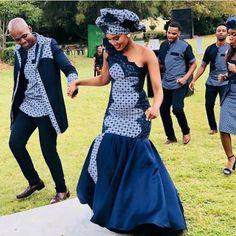 African Shweshwe Dresses 2019: Latest 2019 ⋆ fashiong4