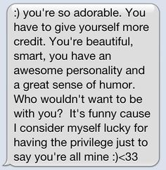A Collection of Cute and Funny Texts