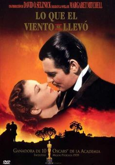 Gone with the wind, 1939. A manipulative Southern belle carries on a turbulent affair with a blockade runner during the American Civil War.
