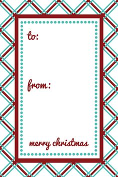 Click to download the variety tag sheet phone pinterest holiday printable gift tags negle Images