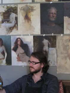 Jeremy Lipking -Studio Visit
