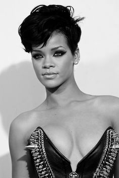 Rihanna challenge is on. Go to our app http://www.facebook.com/appcenter/fotofight. If your picture win you will get an iPhone5.