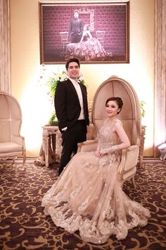 Pernikahan Dilla dan Saman di Hotel Kempinski Jakarta