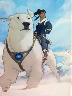 Polar Bear Dog! (and a sequel to Avatar: The Last Airbender -- the good cartoon version)