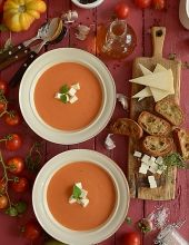 Zupa pomidorowa z pieczonych pomidorów - najlepsza na świecie :) - film video HD