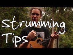 """Learn a killer strum for any ukulele song. Instructions on playing various useful ukulele strumming patterns including IZ's """"Somewhere Over The Rainbow,"""" DDUUD, and a reggae strum. Ukulele Songs Beginner, Guitar Songs, Cool Ukulele, Ukulele Chords, Ukulele Tabs, Drum Lessons, Guitar Lessons, Guitar Tips, Playing Guitar"""