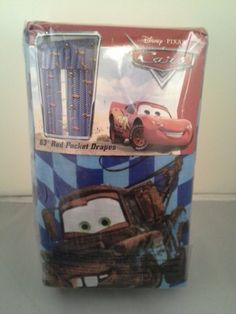 DisneyPixar Cars Autograph 63Inch Drapes Pair *** Click on the image for additional details. (Note:Amazon affiliate link)