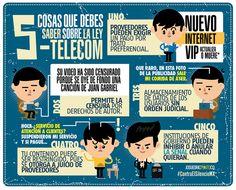 5 cosas sobre la #LeyTelecom