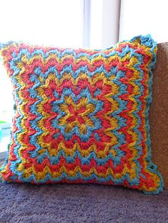 Ravelry: Project Gallery for Bargello Blanket pattern by Elena Fedotova