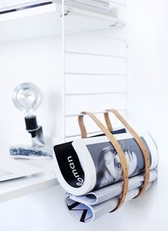Yes, but please don't bend up my mags! 15 Genius DIY Magazine Rack Ideas
