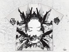 "LIMITED EDITION - Brandon Loyche - ""At Peace In Turmoil"" B&W Men's Crew Various Artists, Vibrant Colors, Finding Yourself, Peace, Artwork, Work Of Art, Room"