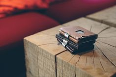 EXENTRI wallets and cardholders provide quick card access with a flick of your thumb. Quality leather, stainless steel and RFID block. Quick Cards, Usb Flash Drive, Card Holder, Stainless Steel, Mens Fashion, Wallet, Leather, Style, Ideas
