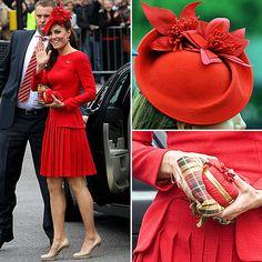 Royal fashion.