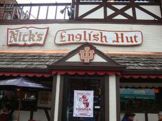 If you're ever in Bloomington, Indiana, visit this historic IU pub, Nick's English Hut.