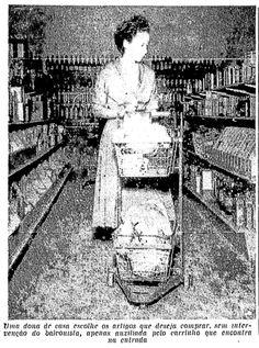Os primeiros supermercados e o mais antigo em funcionamento na cidade... SirvaSe, Peg-Pag, Pão de Açucar ... https://quandoacidade.wordpress.com/2012/02/02/o-primeiro-supermercado/ https://quandoacidade.wordpress.com/2013/02/05/o-primeiro-e-o-primeirissimo/