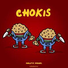 CHOKIS....same clothes than Chucky imagenes graciosas #humor #amazing   pachucochilango.com #compartirvideos #imagenesdivertidas
