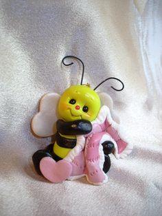 Biene mit Schmusetuch