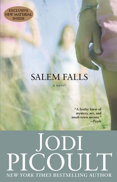 Salem Falls by Jodi Picoult. It is in the fiction section of the DHS Library, F PIC.