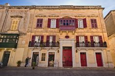 Just one example of the exquisite architecture of Mdina, the ancient walled city that was the original capital of Malta