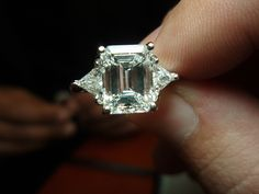 3.12ct E VS1 Emerald Cut Diamond by diamondsonfifth, via Flickr