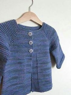 Elliot Sweater by Teresa Cole Baby Knitting Patterns Free Cardigan, Crochet Toddler Sweater, Baby Cardigan Knitting Pattern, Kids Knitting, Toddler Cardigan, Cardigan Bebe, Knitted Baby Cardigan, Knit Baby Sweaters, Free Knitting